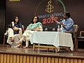 Ritu Kapur (center) at an Amnesty Event, New Delhi, Joesy Joesph (left).jpg