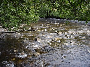 English: River Shiel Quite a lively prospect a...