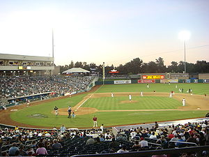 Sacramento River Cats - River Cats at Raley Field in 2007