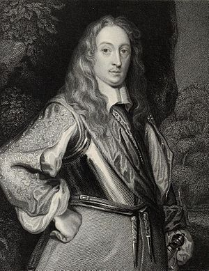 Robert Greville, 2nd Baron Brooke - Lord Brooke, engraving by Mote.