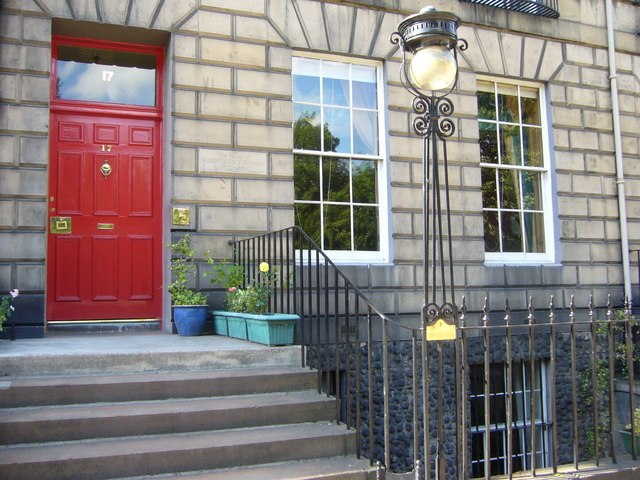 Robert Louis Stevenson childhood home, Heriot Row