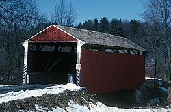 Rock Covered Bridge