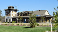 Amtrak station and Chamber of Commerce, Rocklin