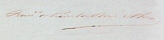Francisco de Paula Rodrigues Alves - Image: Rodrigues Alves signature