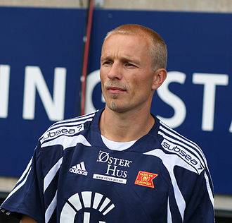 Roger Nilsen - Roger Nilsen during a show game against Liverpool