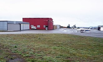 Rohnerville Airport - Image: Rohnerville Airport Hangers