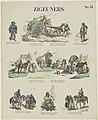 Roma en Sinti Zigeuners (titel op object) Meijer's prenten (serietitel), RP-P-OB-202.353.jpg