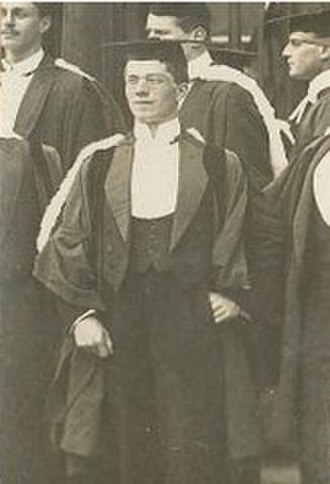 Ronald Fisher - On graduating from Cambridge University, 1912