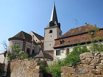 Église Saint-Étienne de Rosheim - Église Saint-Étienne de Rosheim