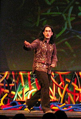 Ross Noble - Ross Noble performing his show Noodlemeister at the Edinburgh Fringe.