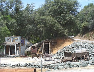 Rough and Ready, California - A scene in Rough and Ready near the Historic Toll House