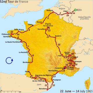 1965 Tour de France cycling race