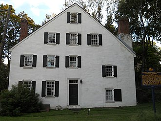 Cheltenham, Pennsylvania - Rowland House, ca. 1774