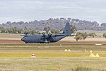 Royal Australian Air Force (A97-440) Lockheed Martin C-130J Hercules taking off at Wagga Wagga Airport.jpg