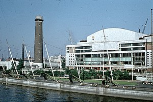 Southbank Centre - Royal Festival Hall and Shot Tower, 1959