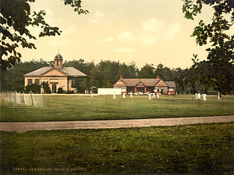 Royal Military Academy Sandhurst - Royal Military College cricket grounds, Sandhurst, c. 1895