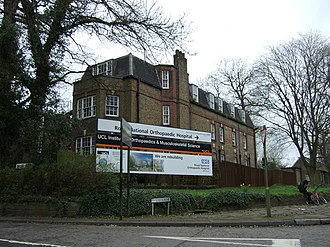 Royal National Orthopaedic Hospital - The hospital's main site in Stanmore