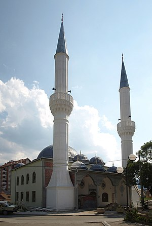 Bosniaks of Montenegro - Mosque in Rožaje.