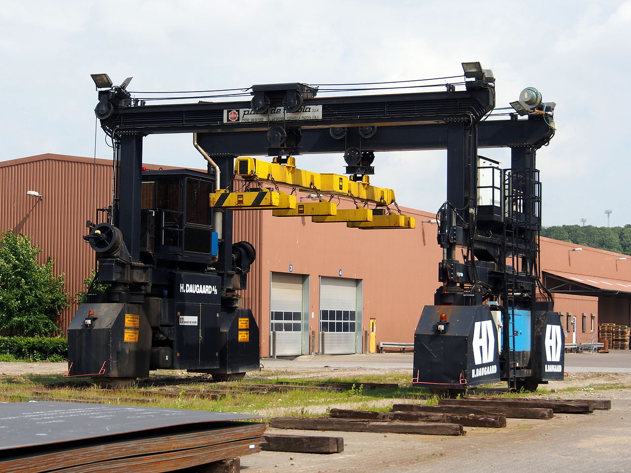 Rubber Tyred Gantry Cranes Translate : Rubber tyred gantry crane dimensions crafts