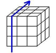 Rubik's cube notation for 1 layer - L'.jpg