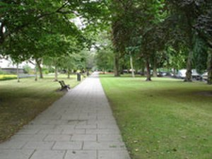 Rubislaw and Queens Terrace Gardens - Image: Rubislawterracegarde ns