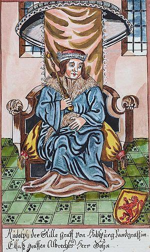 Rudolph II, Count of Habsburg - Image: Rudolf the Kind, Count of Habsburg