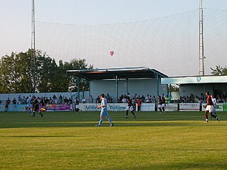 Rugby Town F.C. - Image: Rugby Town Football Club on Butlin Road, Rugby, Warwickshire