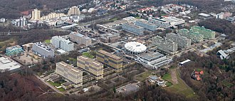 Ruhr University Bochum - Aerial view of Ruhr-University (2014)