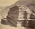 Ruins of a Buddhist Temple excavated at Ali Musjid British India, 1878 photo.jpg
