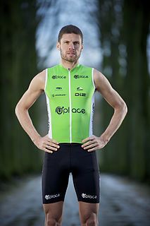 Rutger Beke Belgian triathlete