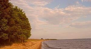 Poshekhonsky District - Rybinsk Reservoir near the selo of Fedorkovo in Poshekhonsky District