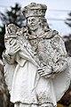 Sümegprága, Nepomuki Szent János-szobor 2021 11.jpg