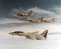 S-3A Viking of VS-41 refuels F-14A Tomcats of VF-1 and VF-2 1988.jpeg