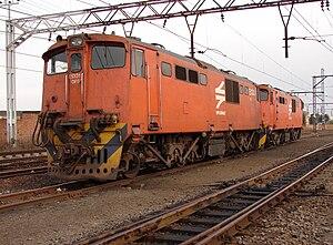 Springs, Gauteng - Transnet Freight Rail Station, Welgedag, Springs
