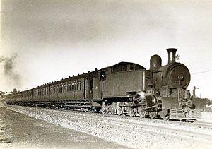 South African Class K 4-6-4T - Image: SAR Class K (4 6 4T)