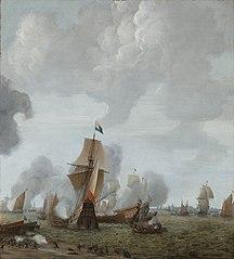 De slag op het Slaak, 1633, zijluik