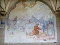 SMN Chiostro Grande e08 Antonio Pillori, San Tommaso d'Aquino alla mensa di Re Luigi IX.JPG
