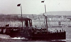 SS Tynwald (1866) - Image: SS Tynwald pictured leaving Douglas