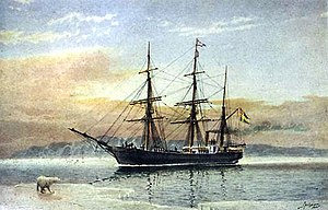 Vega Expedition - Swedish steamship SS Vega, used during the expedition of the Finnish-Swedish explorer Adolf Erik Nordenskiöld.