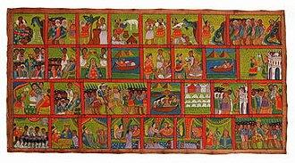 Kebra Nagast - Illustrations to the Kebra Nagast, 1920s