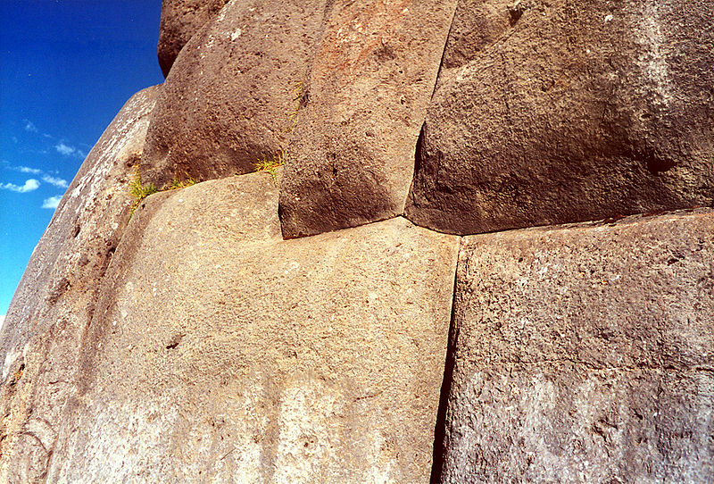 File:Sacsahuaman masonry3.jpg