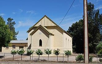 Saddleworth, South Australia - Image: Saddleworth Lutheran Church