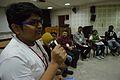 Sai Siddhant Panda - Open Discussion - Collaboration among Indic Language Communities - Bengali Wikipedia 10th Anniversary Celebration - Jadavpur University - Kolkata 2015-01-10 3135.JPG