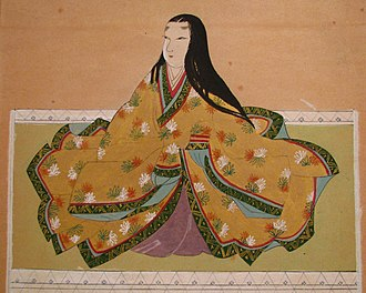 Lady Saigō - Portrait of Lady Saigō, Hōdai-in, Shizuoka, Japan