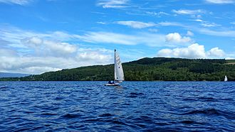 Caragh Lake - Sailing on Caragh Lake