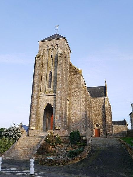 L'église Saint-Brice.
