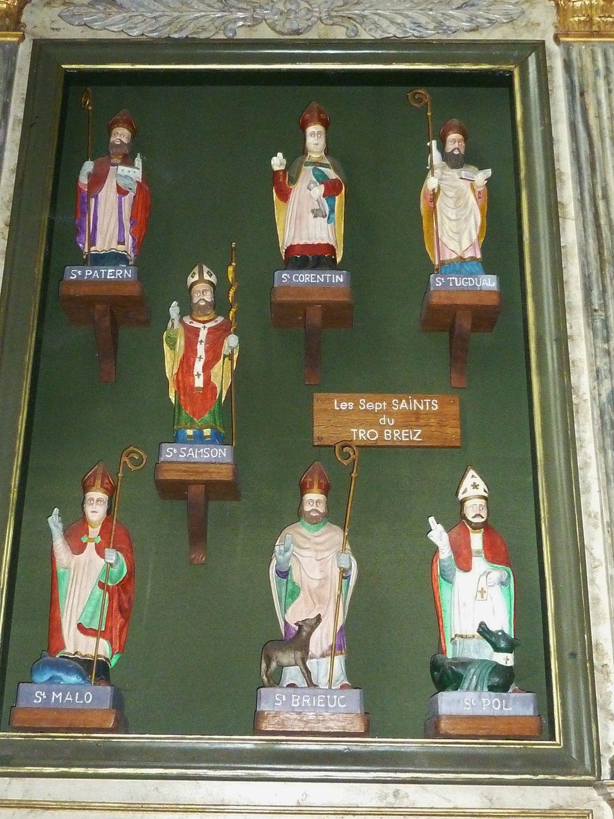 Saints And Angels Oracle Cards: Sept Saints Fondateurs De La Bretagne
