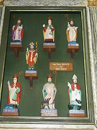 Saint-Pol 22 ND Kreisker Les sept saints du Tro Breiz.JPG