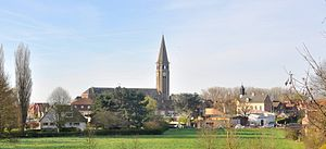 Saint-Venant - A general view of Saint-Venant