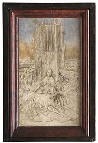 Saint Barbara of Nicodemia - Jan van Eyck - 1437.jpg